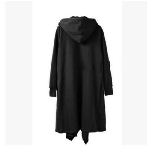 Mens Gothic Long Cloak Cape Coat Casual Jacket Stylish Punk Long Trench Outwears