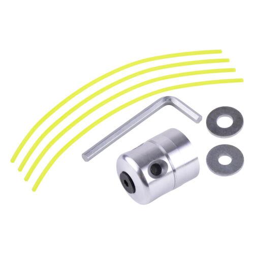 Details about  /Universal Aluminum Grass Rasentrimmer Head Nylon Cutting Line Brushcutter
