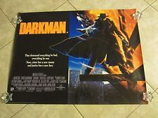 DARKMAN movie poster LIAM NEESON, SAM RAIMI