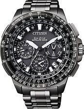 Citizen Mens CC9025-51E Promaster GPS F900 Satellite Wave Black Titanium watch.