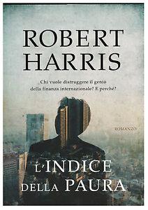 LIBRO, ROBERT HARRIS, L'INDICE DELLA PAURA, MONDADORI, COD.9788804613206