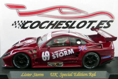 LISTER STORM UK SPECIAL EDITION red Nº69 EXPORTACION INGLATERRA REF.E101 FLY