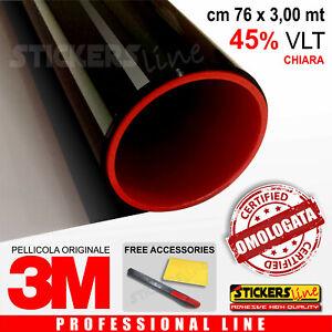 Pellicola-Oscuramento-Vetri-Auto-Black-Shade-3M-BS45-omologata-cm-76-x-3-00-mt