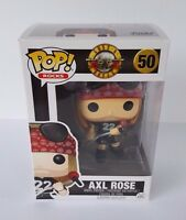 Funko Pop Rocks Guns N Roses Axl Rose Vinyl Figure 50 In Box - In Stock
