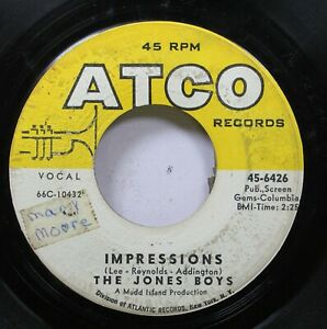 Hear-Northern-Soul-45-The-Jones-Boy-Impressions-I-Remember-Barbara-On-Atco