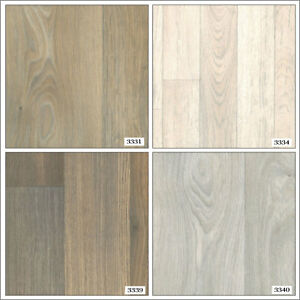 Wood Effect Anti Slip Vinyl Flooring Home Kitchen Office High