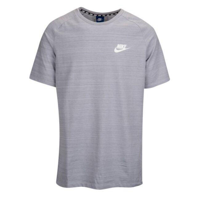 watch best loved crazy price Men's Nike Sportswear Advance 15 Tee Shirt 885927 012 Gray Size XL