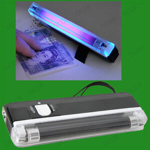 Mini UV Pocket Size Blacklight Counterfeit Bank Note & Security Marker Detector
