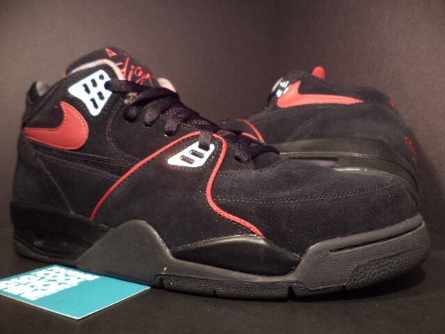 Nike Nike Nike Air FLIGHT 89 1989 A schwarz rot Silber COOL grau CHROME Brot 315793-061 13 5226fd