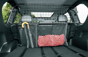 nissan x-trail t31 genuine dog guard/partition car boot grille rack