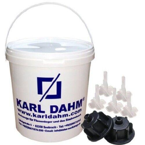 Karl Dahm Nivelliersystem Verlegehilfe für Fliesen und Platten Plan System TOP | Attraktiv Und Langlebig  | Elegant und feierlich  | Clever und praktisch