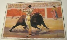 Spain Eluding the bull with the darts Episodios de una Corrida - posted 1957