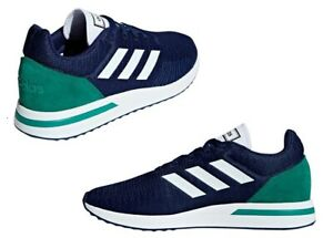 Adidas-RUN70S-CG6140-Blu-Scarpe-da-Ginnastica-Uomo-Comode-e-Leggere