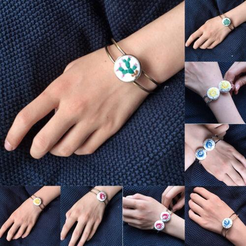 Kit Point De Croix Bricolage Pour Débutants Loisirs Créatif Bracelet à Main