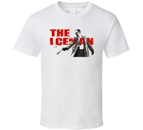 The Iceman Mob Hitman Film Shannon Gangster Ventilateur T Shirt