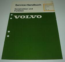 Werkstatthandbuch Volvo 340 Motor B172 / B 172 ab Baujahr 1985!