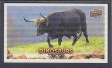 Upper Deck 2015 - Dinosaurs - Canvas Mini SSP # 139 Aurochs