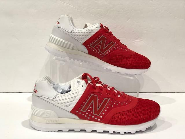 New Balance14 Sneakers 574 ReEngineered Red and White New  MTL574MR