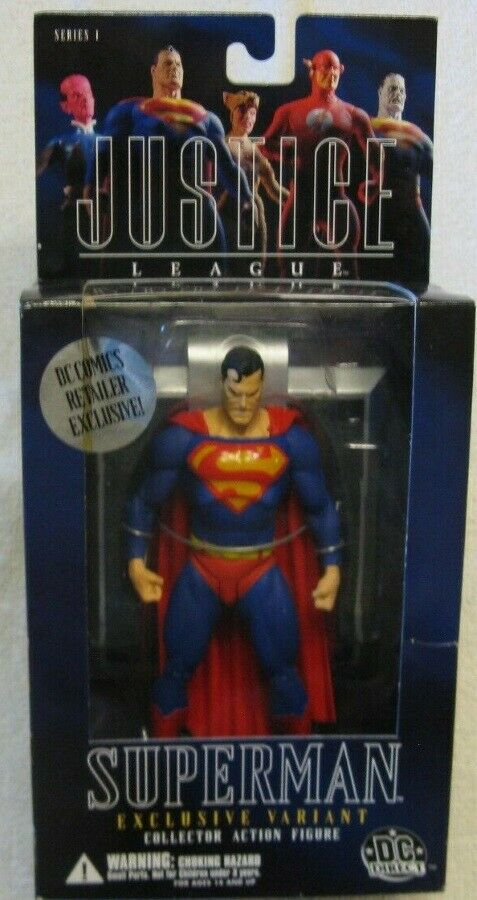 DC Direct  Angry  Superuomo With With With rosso Eyes Exclusive Justice League JLA  Alex Ross b39d6b