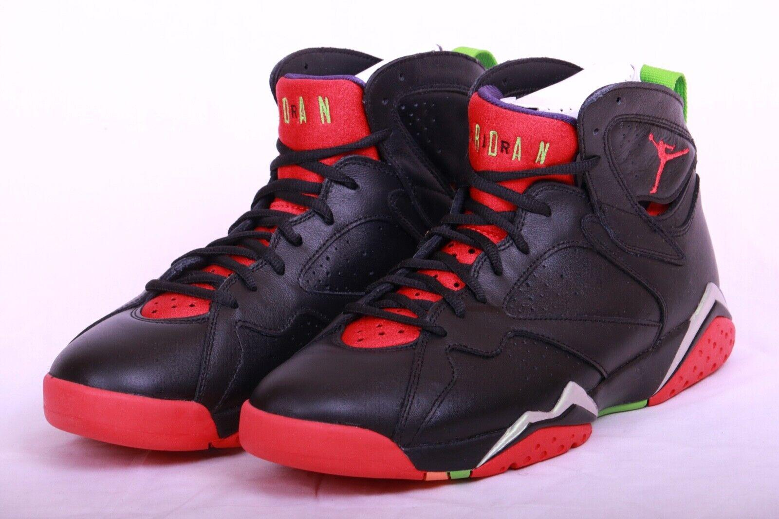 Nike Mens Air Jordan 7 VII Retro Marvin the Martian Black Red 304775 029 Size 11