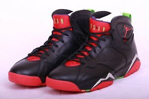 79c8dc94ff9 Nike Mens Air Jordan 7 VII Retro Marvin the Martian Black Red 304775 ...