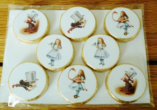 Alice In Wonderland Favors //Party Table Decorations Mint Crisp Chocolates Gift