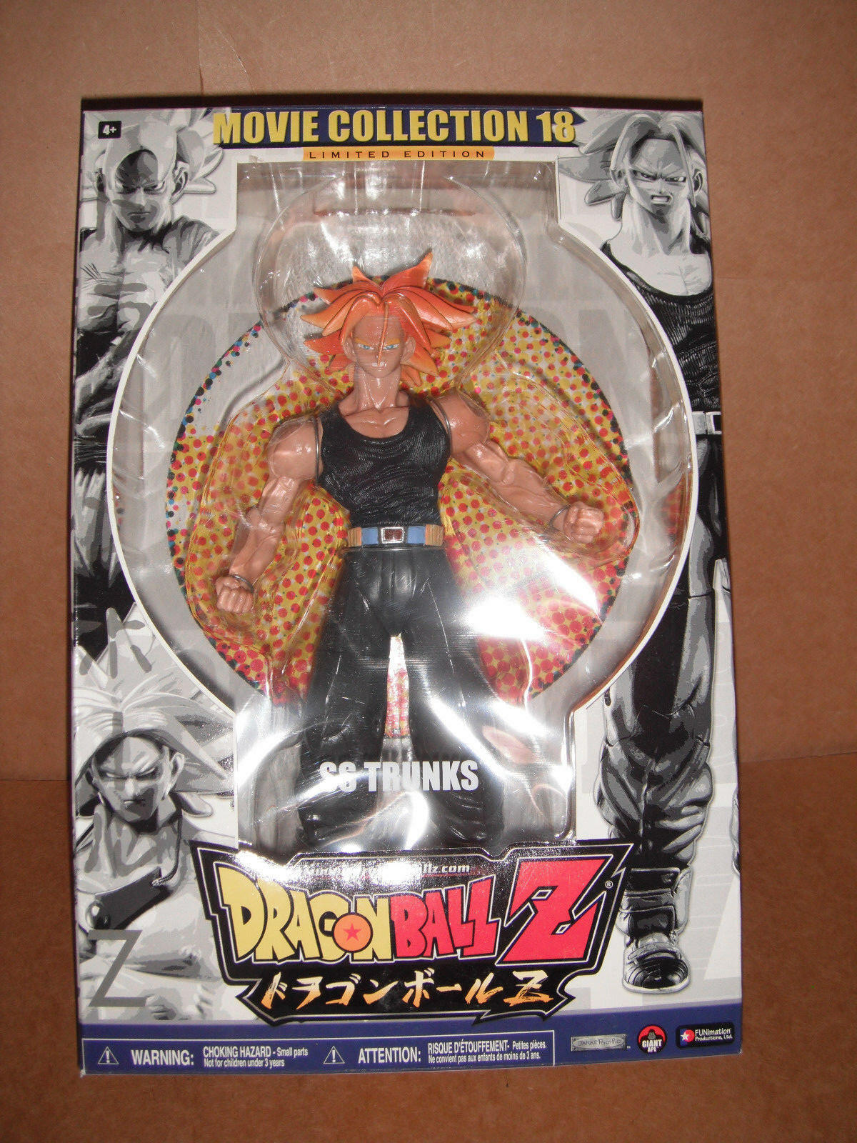 Trunks Movie Collection Series 18 Dragon Dragon Dragon Ball Z Figure 9d6387