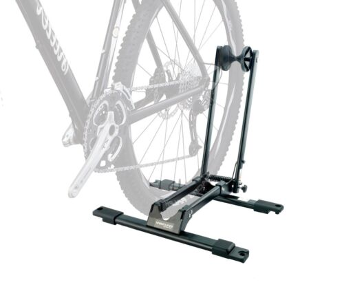 Bike Bicycle Deluxe Storage Double Supporter Floor Stand Rack
