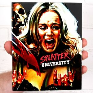 Splatter-Universidad-Blu-ray-Edicion-Limitada-Inc-sindrome-de-vinagre-Slipcover