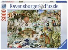 RAVENSBURGER PUZZLE*3000 TEILE*OCEANIA*FINCHLEY PAPER*RARITÄT*NEU+OVP