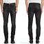 Nudie-Unisex-Herren-Damen-Skinny-Fit-Stretch-Jeans-Hose-Tape-Ted-Black-Briquette Indexbild 1