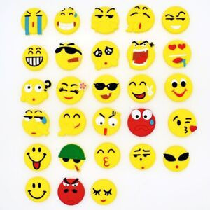 New-28pcs-Emoji-Expression-Shoe-Charms-Fits-Clog-Bracelet-Party-Favor-Gifts