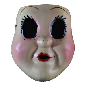Adult-Women-039-s-Prey-At-Night-Dollface-Dark-Creepy-Doll-Halloween-Costume-Mask
