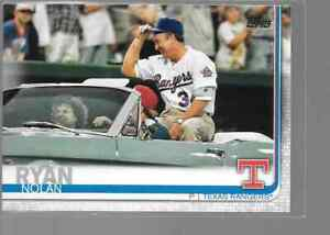 NOLAN-RYAN-2019-Topps-Update-US219-SHORT-PRINT-CARD-Texas-Rangers