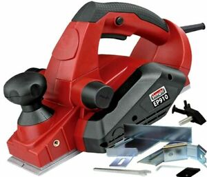 Electric-82mm-Power-Wood-Planer-910W-3-5mm-Pass-Heavy-Duty-240v-with-Fence