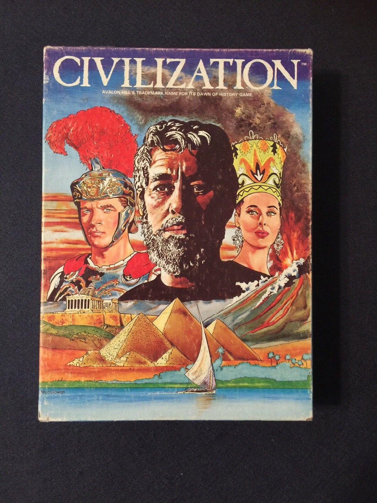 Juego de la civilización de la edad heroica Juego De Mesa