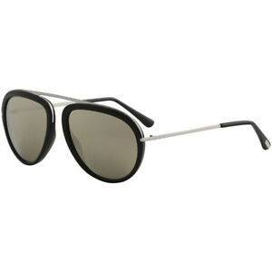 8716c2790703 Sunglasses Tom Ford Stacy TF 452 FT 01c Shiny Black   Smoke Mirror ...