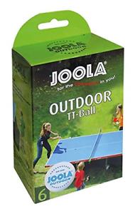 JOOLA-all-039-aperto-6ER-Tavolo-da-Ping-Pong-Palline-Confezione-da-6-Bianco