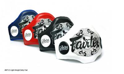GENUINE FAIRTEX Light-Weight Belly Pads BPV2 Fairtex Brand New Product
