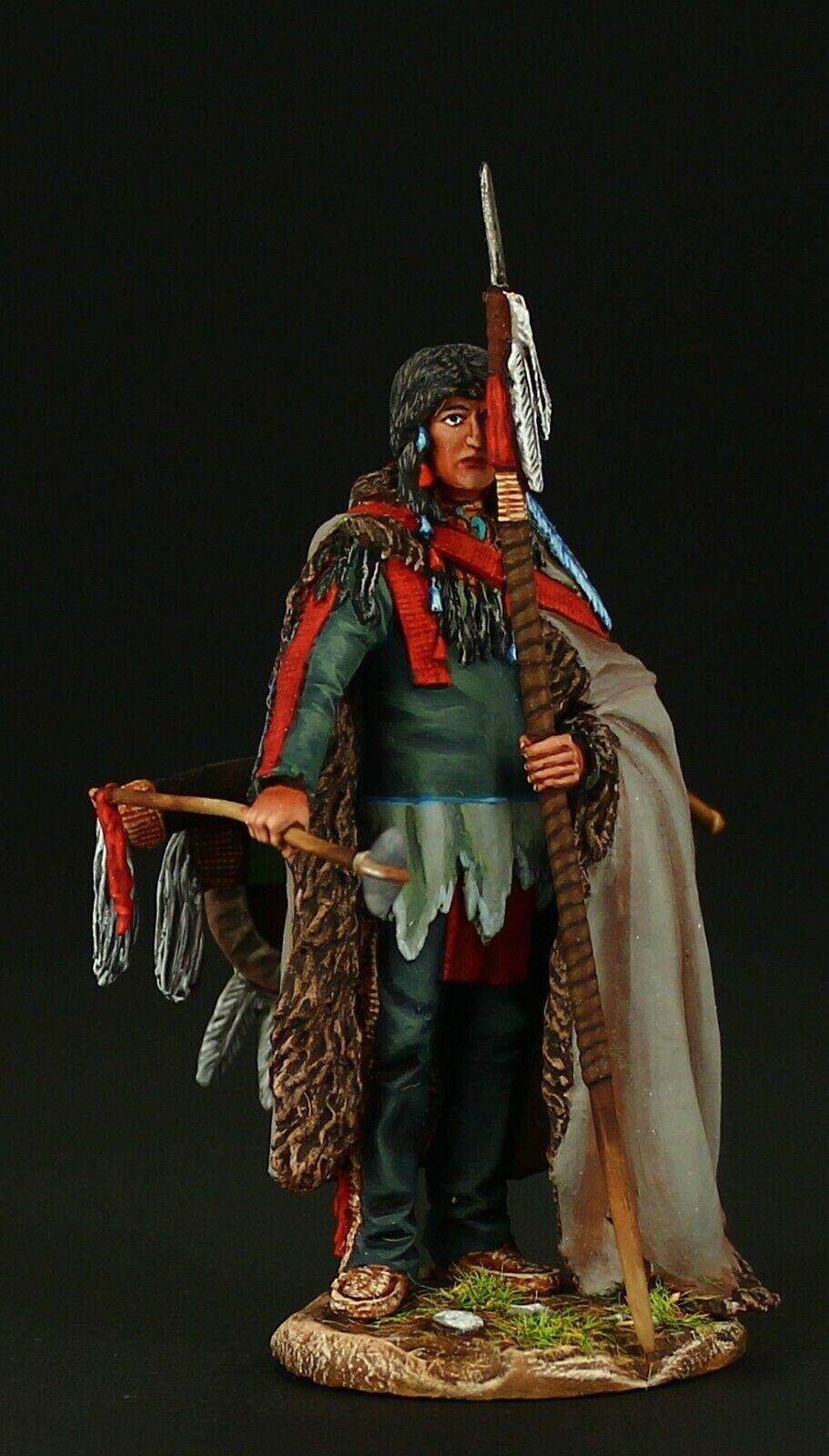 Tin soldat, Collectible, Cheyenne Warrior 54 mm, Amerikanska Natives
