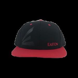 Easton Embossed Hat by Richardson R165–Black Red Embossed E Embossed ... b112272368e8