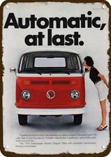 ROTTEN 1964 VOLKSWAGEN BUS STATION WAGON VW Vintage Look REPLICA METAL SIGN