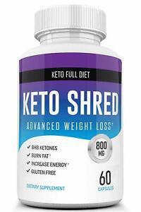 Keto Ultra Shred Diet Pills from Shark Tank - Keto Advanced Weight Loss Fat