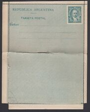 ARGENTINA, 1888. Reply Letter Card H&G 4, Mint