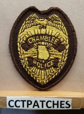 CHAMBLEE GEORGIA GA train POLICE PATCH