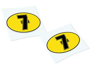 Barry-Sheen-7-Klassiker-Retro-Auto-Motorrad-Aufkleber-Sticker