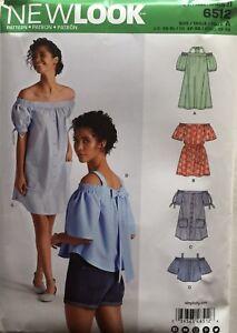 4d2c983e620de New Look 6512 Misses Blouses Dresses Assorted Styles Sizes  XS - XL ...