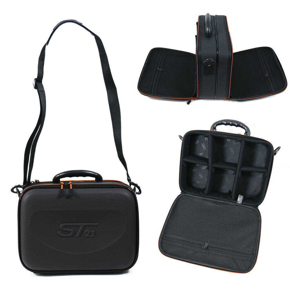 ST21 Fishing  Reel Both Side Shoulder Bag Pouch Hard Case Travel Laptop Okay A  brands online cheap sale
