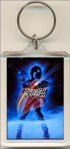 Starlight Express Keyring The Musical Bag Tag.