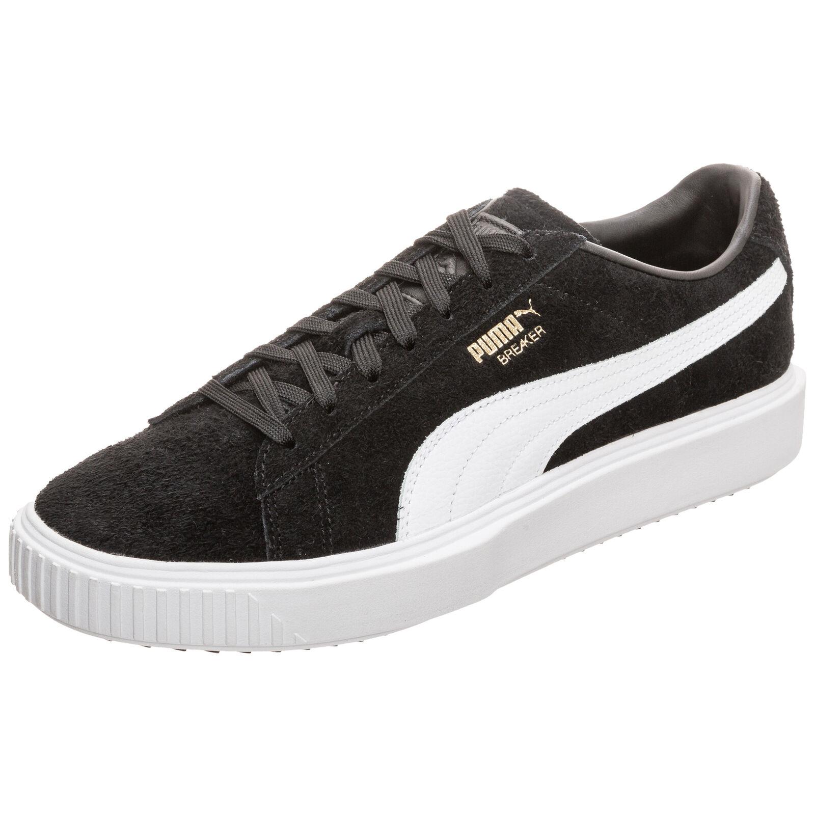 Puma Breaker Evolution Sneaker Schwarz NEU Schuhe Turnschuhe